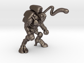 Pillthug, Blaster in Polished Bronzed Silver Steel: Extra Small