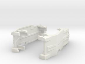 TR PMOP Arm Upgrade Set B in White Premium Versatile Plastic