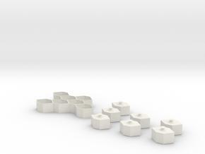 Cord Holder in White Natural Versatile Plastic