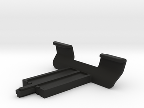 Replacement arm clips for OttoPilot kneeboard in Black Natural Versatile Plastic