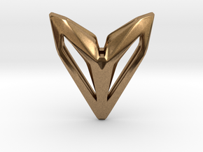 Phantom, Pendant. Space Chic in Natural Brass