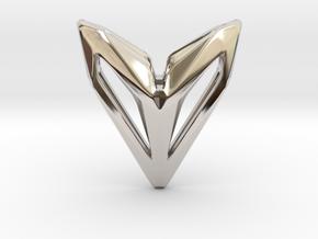 Phantom, Pendant. Space Chic in Rhodium Plated Brass