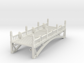 Tabletop Bridge - Long in White Strong & Flexible: Small