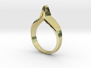 YOUNIVERSAL ZENITH Z.01, US size 7, ring d=17,3mm( in 18k Gold Plated Brass: 7 / 54