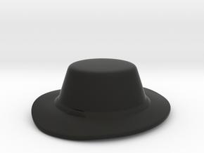 Landsknecht Hat in Black Premium Versatile Plastic