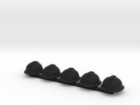 5 x Adrian in Black Premium Versatile Plastic