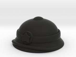 Vietnamese Pith Helmet in Black Premium Versatile Plastic