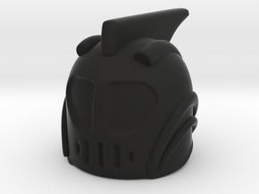 Rocketeer Helmet in Black Premium Versatile Plastic
