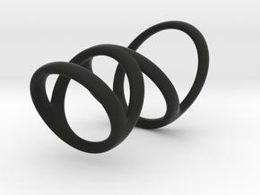 Ring splint for Kristen D1 13-9 D2 16-5 D3 20-32 L in Black Premium Strong & Flexible