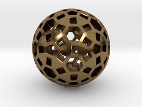 Spherical in Polished Bronze