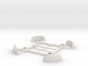 Tiny Whoop printed frame 7mm motors V1.4 in White Natural Versatile Plastic