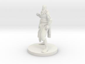 Human Monk Master in White Strong & Flexible