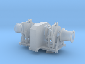 Anchorwinch 1:100 in Smooth Fine Detail Plastic