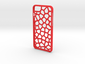 Iphone 6 leopard case in Red Strong & Flexible Polished