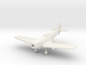 "Spitfire LF Mk XIVE ""low back"" in White Natural Versatile Plastic: 1:144"