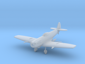 """Spitfire LF Mk XIVE """"low back"""" in Smooth Fine Detail Plastic: 1:144"""