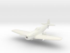 "Spitfire LF Mk XIVE ""low back"" in White Natural Versatile Plastic: 1:144"