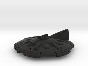 Martian Zhukov class Light Cruiser in Black Premium Versatile Plastic