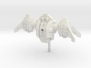 Ryuushi Dominator in White Premium Versatile Plastic