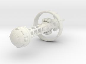 Belter Cruiser in White Premium Versatile Plastic