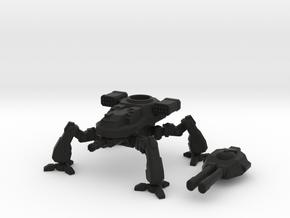 Terran Artillery Walker in Black Premium Versatile Plastic
