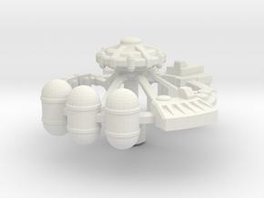 Orbital Factory in White Premium Versatile Plastic