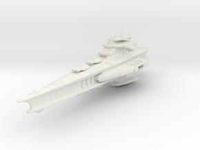 Novus Regency Battleship in White Premium Versatile Plastic