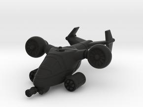 Terran VTOL Cruise Mode in Black Premium Versatile Plastic