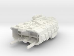Factory Ship in White Premium Versatile Plastic
