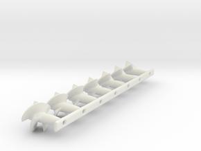 Nqd impeller set in White Natural Versatile Plastic