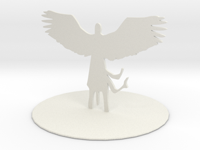 Planetar (Angel) in White Natural Versatile Plastic