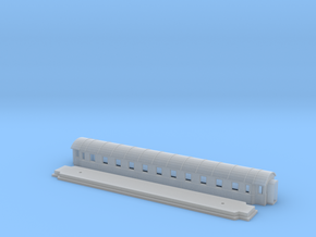 Co8d - Swedish passenger wagon in Smooth Fine Detail Plastic