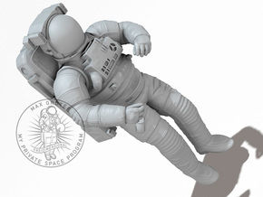 NASA EMU (Extravehicular Mobility Unit) I 1:32 / 1 in White Natural Versatile Plastic: 1:16
