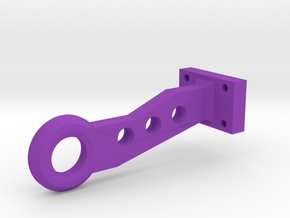 Scale 1:10 Tow Hook Drift  in Purple Processed Versatile Plastic
