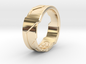 GD Ring (Choose Size Below) in 14K Yellow Gold