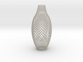 Braided Vase in Natural Sandstone