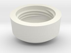 TC4 - Makerchair in White Natural Versatile Plastic