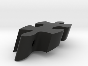 F8 - Makerchair in Black Natural Versatile Plastic