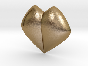 Pokemon Kanto Soul Badge in Polished Gold Steel