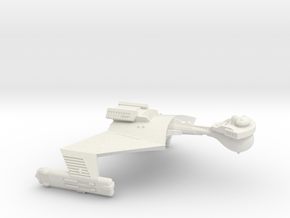 3788 Scale Klingon SD7B Unrefitted Strike Cruiser in White Natural Versatile Plastic