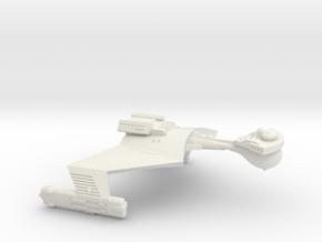 3788 Scale Klingon SD7B Unrefitted Strike Cruiser in White Natural Versatile Plastic
