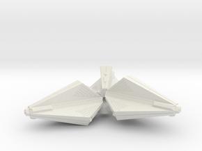 3125 Scale Tholian Destroyer Pinwheel SRZ in White Natural Versatile Plastic