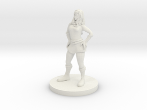 Sassy Mage in White Natural Versatile Plastic