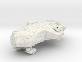 "Kushan ""Tempest"" Corvette in White Natural Versatile Plastic"