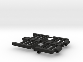 Donahue Combine trailer Ramps  in Black Natural Versatile Plastic