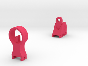 TF2 Cleaner's Carbine Iron Sights in Pink Processed Versatile Plastic