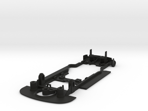 S22-ST4 Chassis for Scalextric Audi R8 SSD/STD in Black Natural Versatile Plastic