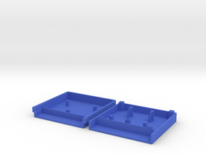 Vectrex Catridge Case in Blue Processed Versatile Plastic