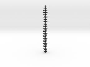 Aerator Tines 3 inch piece in Black Natural Versatile Plastic