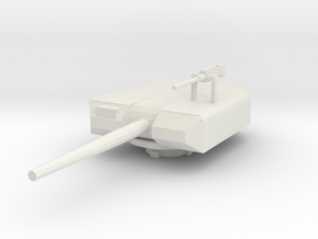 Minaiture RWS Turret - Weapon system Series in White Natural Versatile Plastic: 1:72